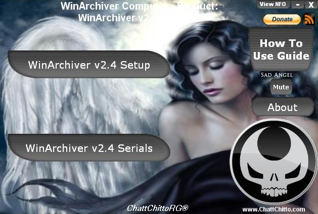 WinArchiver v2.4 + Serials [ChattChitto RG]